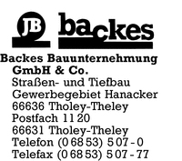 Backes GmbH & Co.