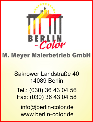 Berlin-Color M. Meyer Malereibetrieb GmbH